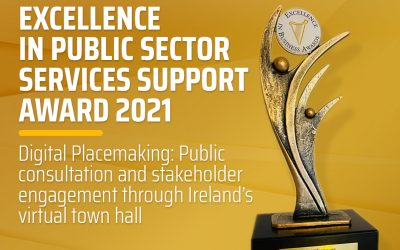 PLACEengagewins Excellence in Public Sector Services Support Award for 2021